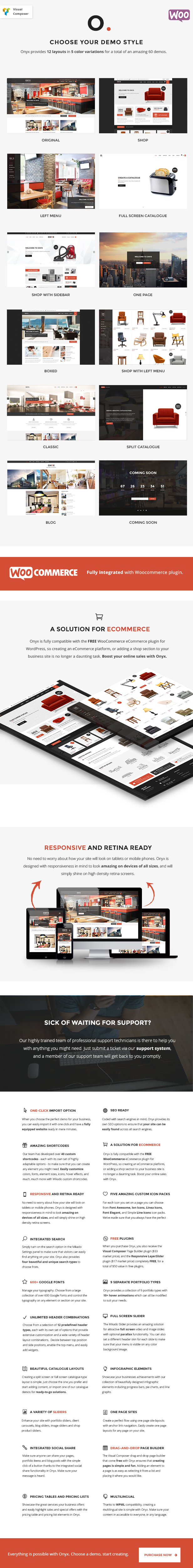 Onyx - A Powerful Multi-Concept Business Theme