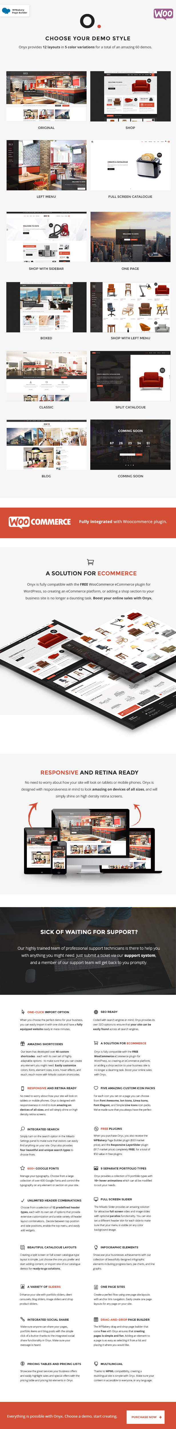Onyx - Multi-Concept Business Theme - 1